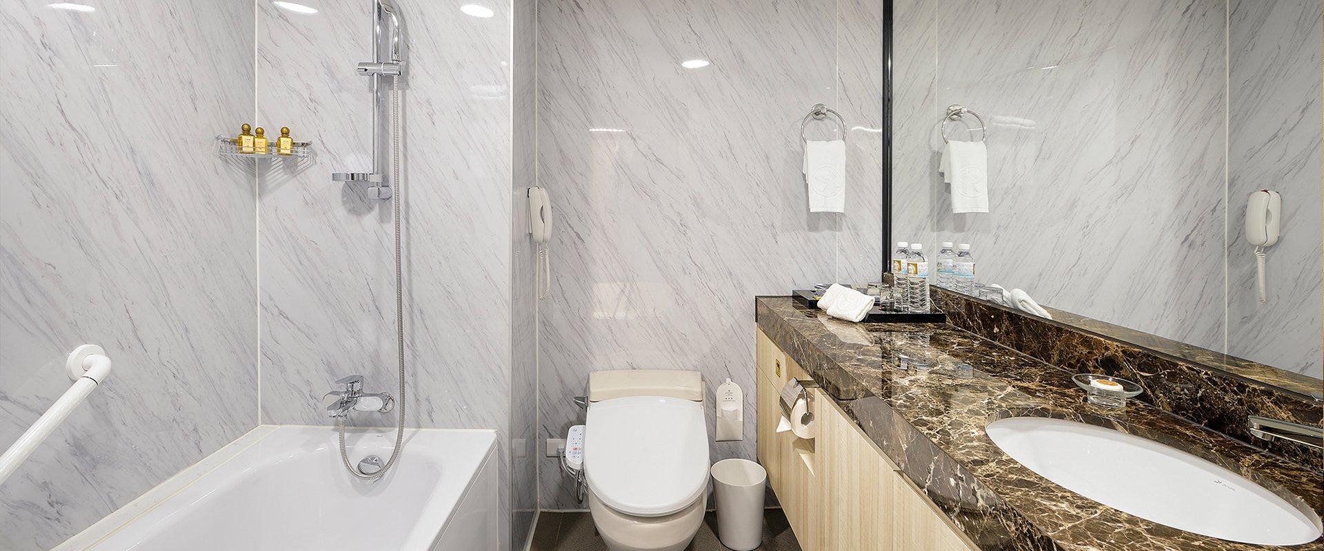 雅緻客房-衛浴